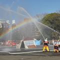写真: 消防出初式