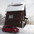 Photos: 雪下ろし一度完了済らしい