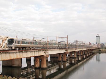 225系新快速 東海道本線新大阪~大阪