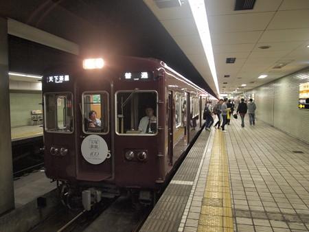 阪急3300系 堺筋線日本橋駅