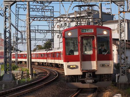 近鉄6400系準急 近鉄南大阪線土師ノ里~道明寺04