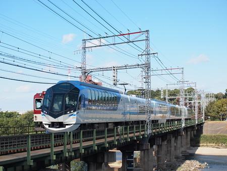 近鉄50000系しまかぜ 近鉄大阪線安堂~河内国分