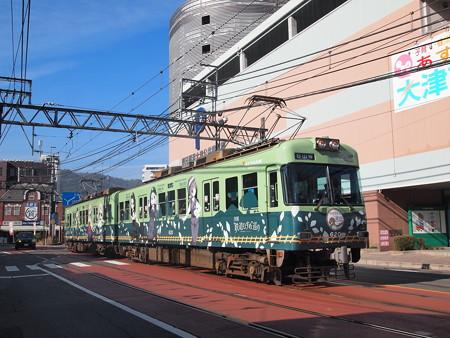京阪600形鉄道むすめラッピング  浜大津~三井寺02