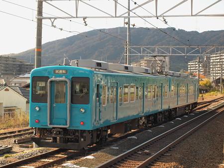 105系本線試運転 東海道本線山崎駅02