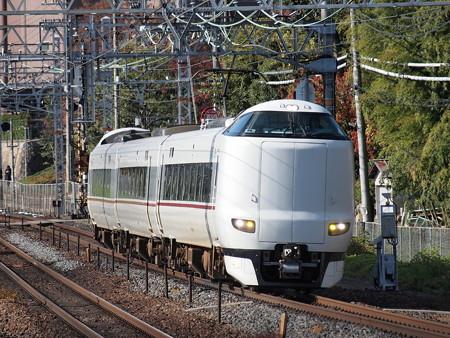 287系回送 東海道本線山崎駅01
