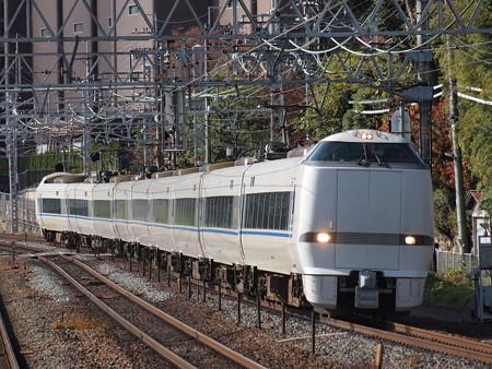 683系特急サンダーバード 東海道本線山崎駅02