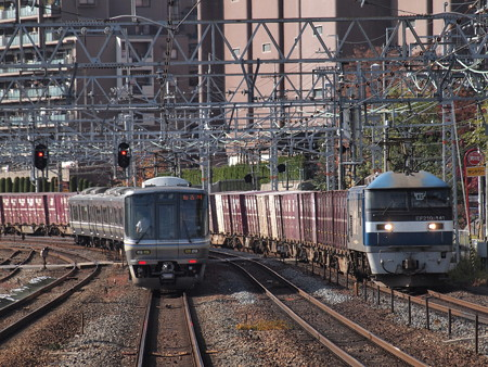EF210貨物 東海道本線山崎駅04