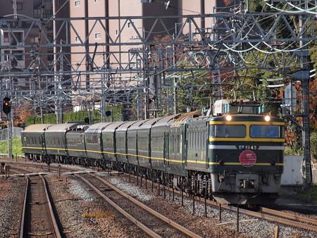 EF81 トワイライトエクスプレス 東海道本線山崎駅