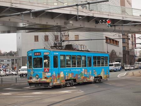 熊本市電1090形  熊本駅前01