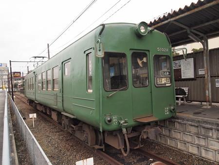 熊本電鉄5000系  菊池線上熊本駅01