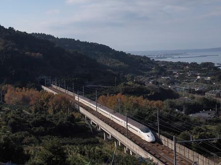 800系さくら 九州新幹線出水~新水俣