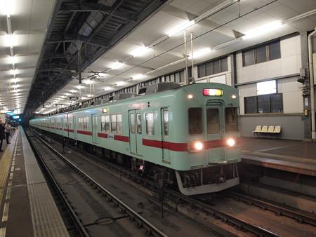 西鉄5000形特急 天神大牟田線薬院駅