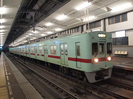 西鉄6000形普通 天神大牟田線薬院駅