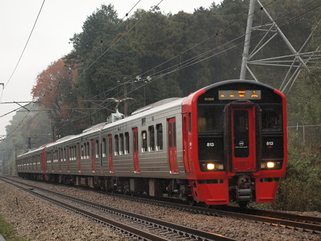 813系 鹿児島本線天拝山~原田01
