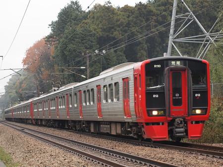 813系 鹿児島本線天拝山~原田03