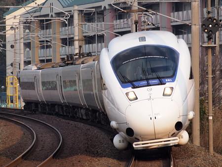 885系特急ソニック 鹿児島本線水巻駅