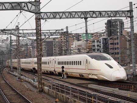 800系つばめ 九州新幹線博多駅