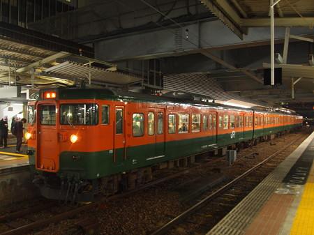 115系湘南色普通 山陽本線広島駅01