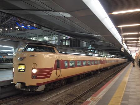 381系特急こうのとり 東海道本線大阪駅01