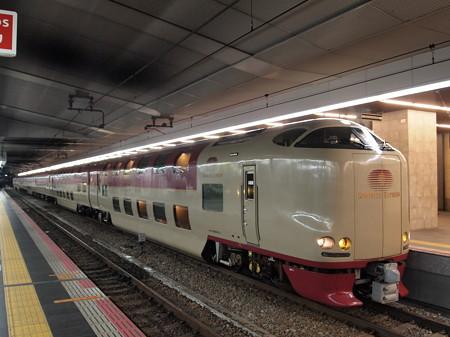 285系サンライズ出雲 東海道本線大阪駅02
