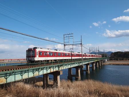 近鉄2400系急行 近鉄山田線宮町~小俣