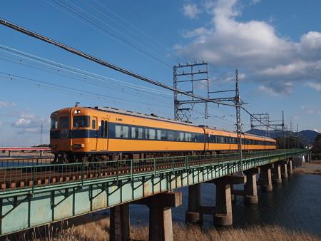 近鉄12400系特急 近鉄山田線宮町~小俣