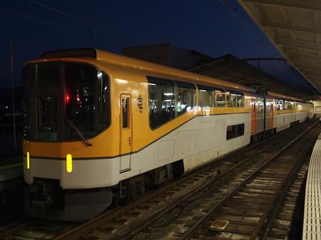 近鉄20000系楽 近鉄山田線宇治山田駅01
