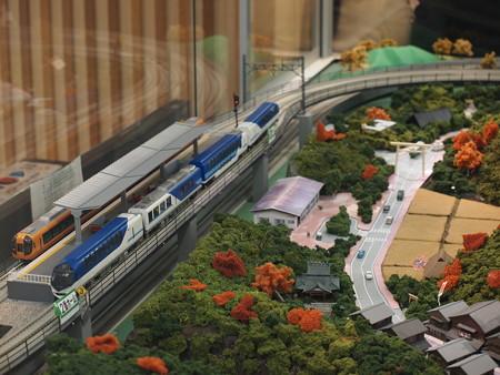 宇治山田駅にあったジオラマ 01
