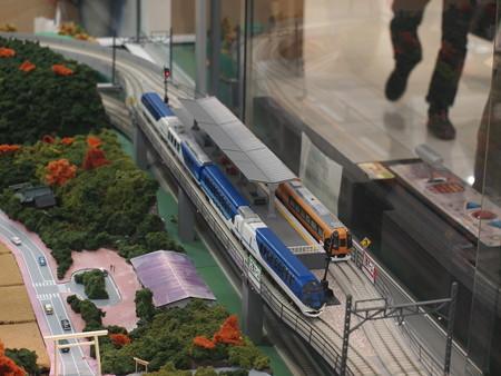 宇治山田駅にあったジオラマ 02