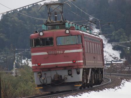 EF81単機  北陸本線津幡~倶利伽羅02