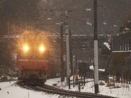 EF81貨物 北陸本線津幡~倶利伽羅