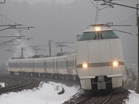 683系特急サンダーバード 北陸本線津幡~倶利伽羅01