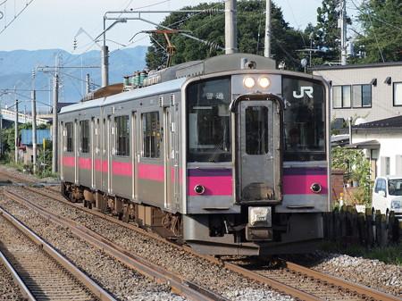 701系普通 奥羽本線撫牛子駅