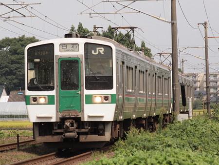 719系普通 東北本線名取~南仙台