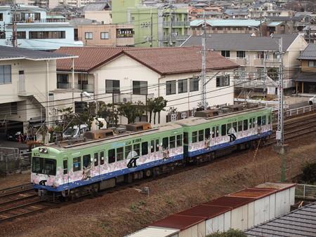 京阪600形 京阪石山坂本線近江神宮~皇子山
