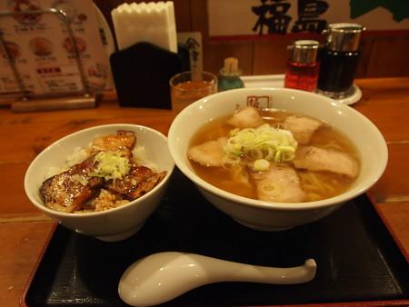 喜多方ラーメン@京都駅の坂内食堂