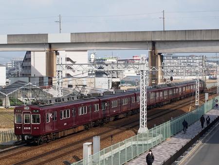 阪急2300系準急 阪急京都線茨木市~南茨木