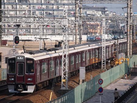 阪急9300系特急 阪急京都線茨木市~南茨木02