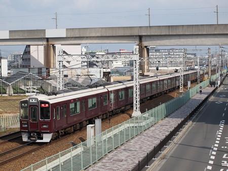 阪急9300系特急 阪急京都線茨木市~南茨木07
