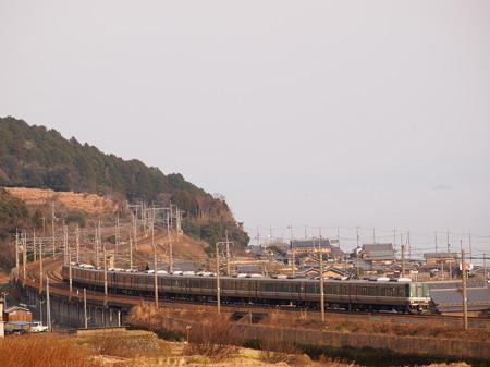 223系新快速 湖西線近江高島~北小松06
