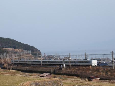 683系特急サンダーバード  湖西線近江高島~北小松01