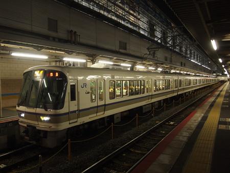 221系快速    奈良線京都駅04