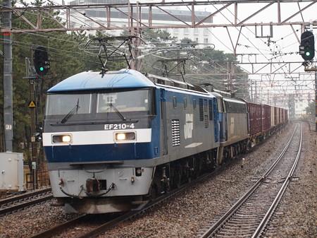 EF210+EF200貨物 山陽本線舞子駅
