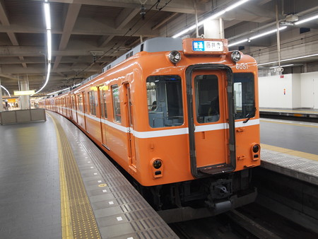 近鉄6020系ラビットカー普通 近鉄南大阪線阿部野橋03