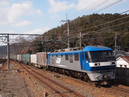 EF210貨物 東海道本線山科駅01