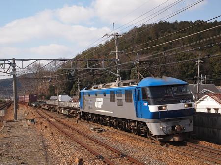 EF210貨物 東海道本線山科駅02