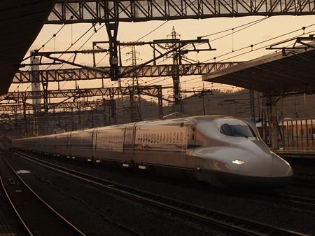 N700系のぞみ 東海道新幹線米原駅07