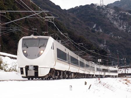 683系特急しらさぎ 北陸本線新疋田~敦賀02