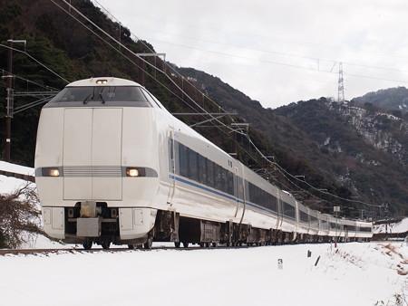 683系特急サンダーバード 北陸本線新疋田~敦賀03