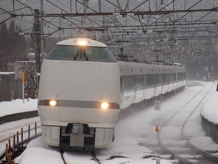 683系特急サンダーバード 北陸本線新疋田駅02